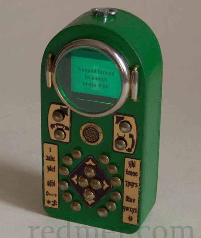 Neovictorian phone
