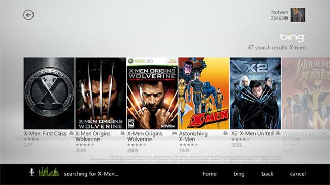 New Xbox Live Dashboard 3