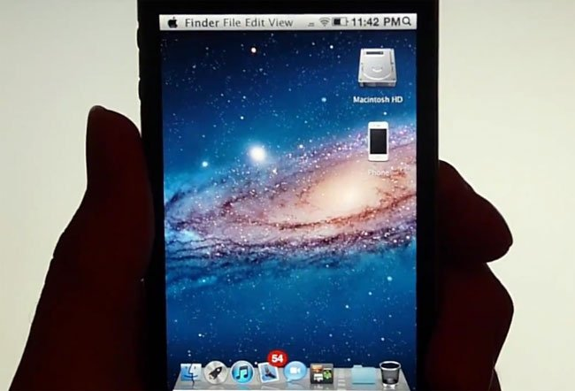 OS X Lion Ultimatum iPhone Theme