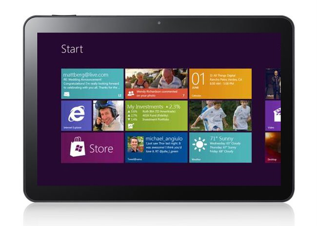 Samsung's Windows 8 Tablet