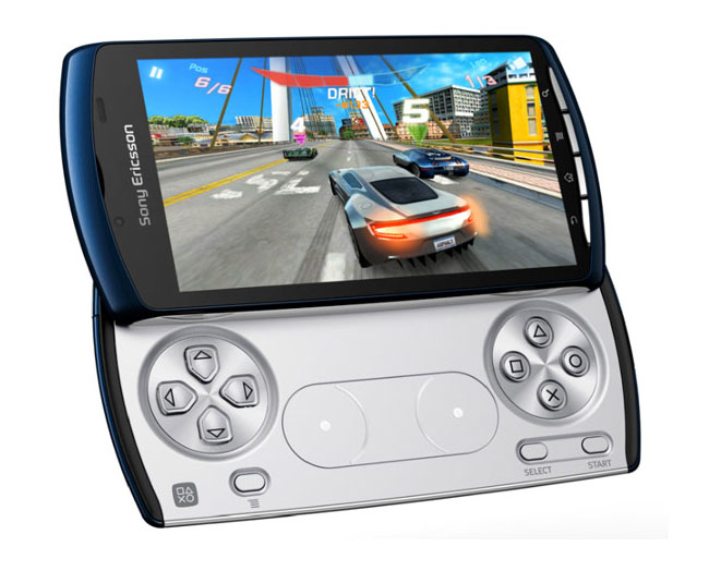 Sony Ericsson Xperia Play Blue