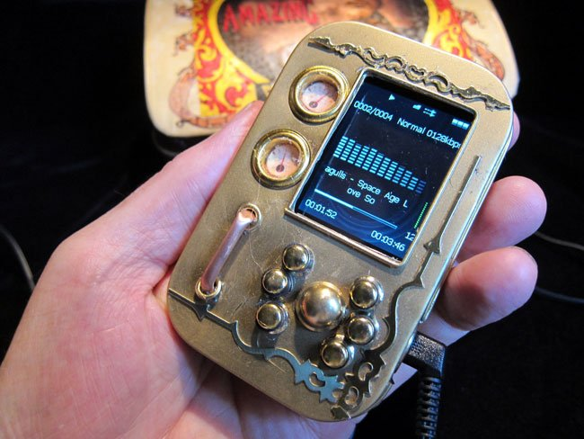 Steampunk MP3 Player