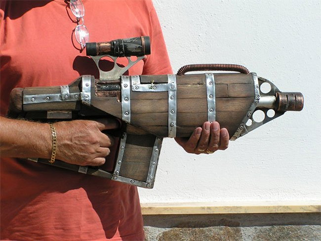 Steampunk Nerf Gun