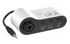 Tascam iXZ Mic And Instrument iOS Interface Unveiled