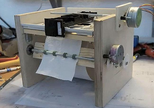 Toilet Paper Printer