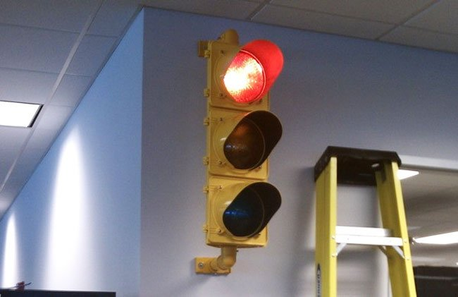 Traffic Light Server Monitor