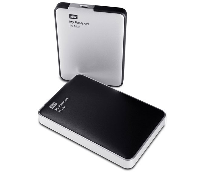 Western Digital Mac Passport Drives
