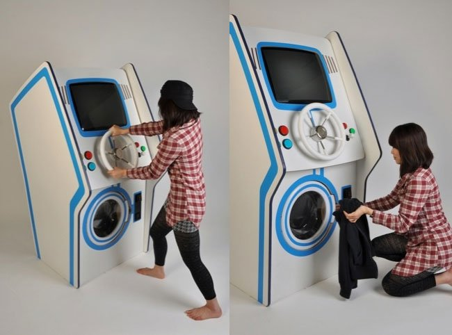 amusement washing machine