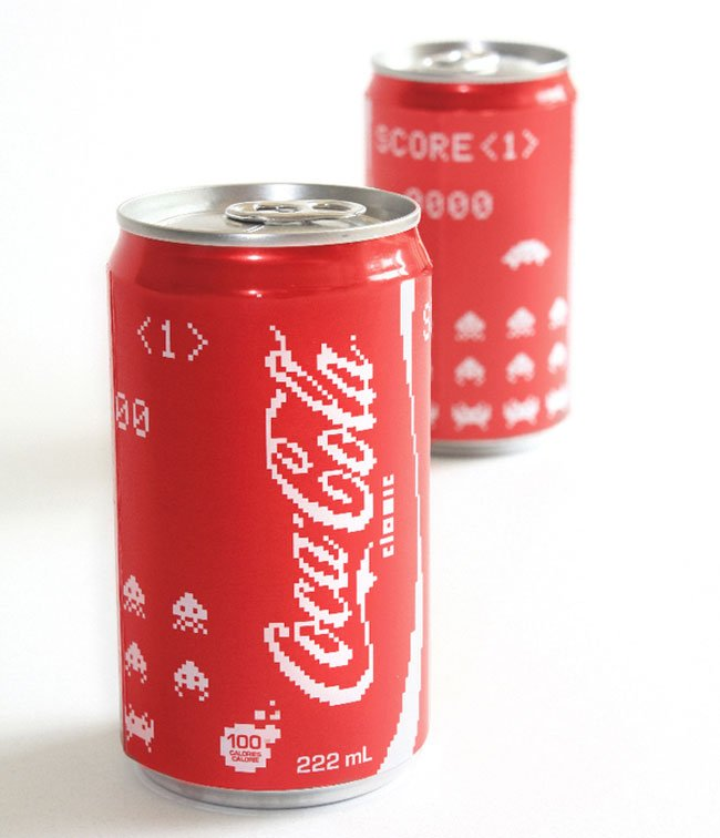 Coca Cola Space Invader Edition