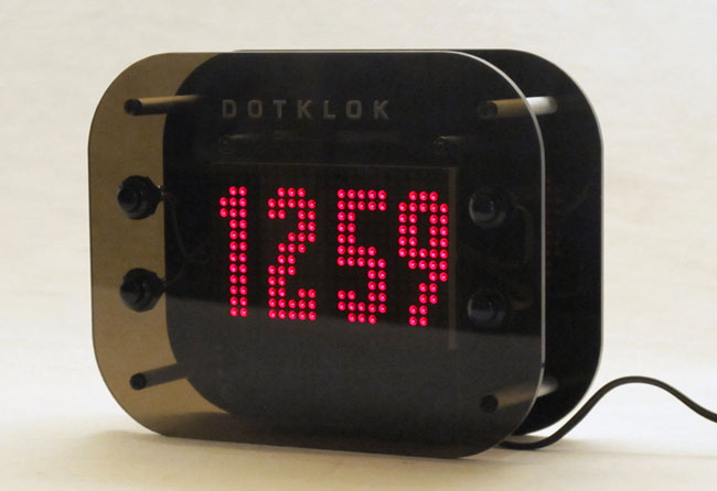 DOTKLOK Digital Clock