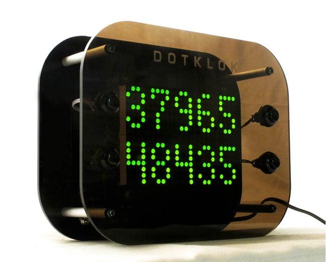 Dotklok The Open Source Arduino Digital Clock