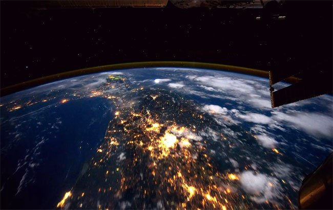 Earth From International Space Station