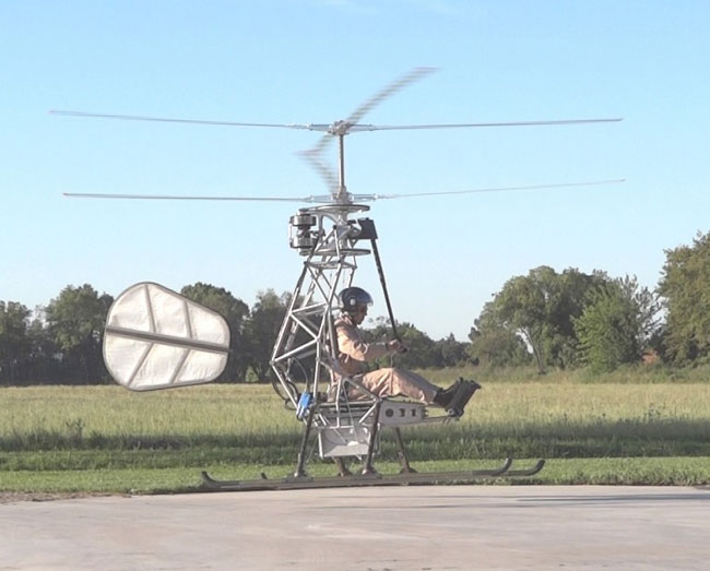 Worlds First Electric Helicopter