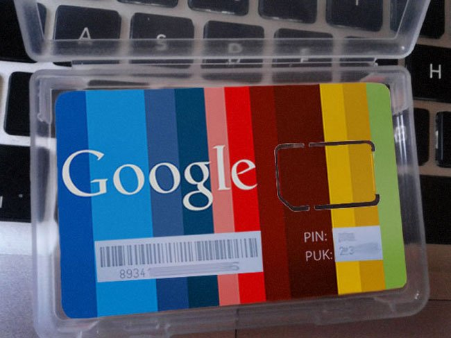 Google Branded SIM Card