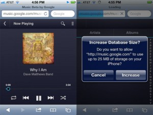 HTML5 Google Music Beta For iOS Released (Video)