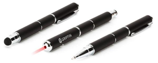 Stylus + Pen + Laser Pointer