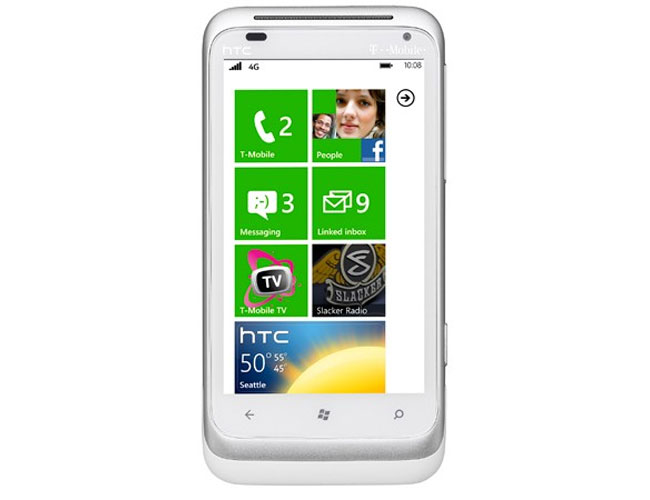 HTC Radar Windows Phone 7.5 Mango Smartphone Announced