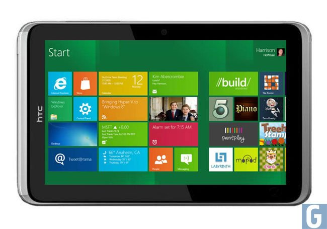 HTC Windows 8 Tablet