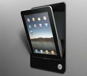 iRoom iDock Motorized iPad Wall Mount (video)