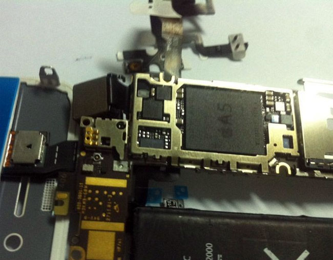 Leaked iPhone 5, iPhone 4S Photo Shows A5 Processor