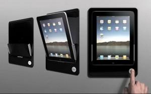 Bracketron Offers iRoom iDock, World's First Motorized iPad Dock