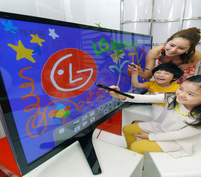 LG Touchpen TV