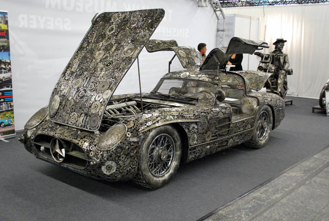 Recycled Car Replicas Look Amazing