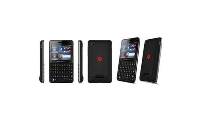 Motorola EX225 Facebook Smartphone