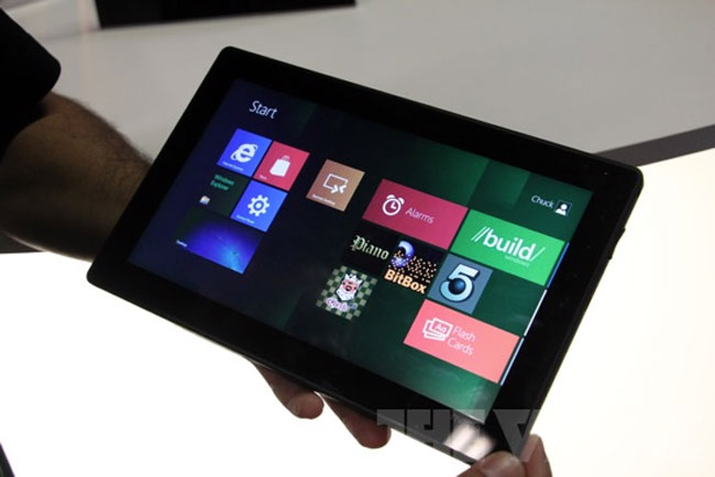 Windows 8 Running On NVIDIA Kal-El Tablet
