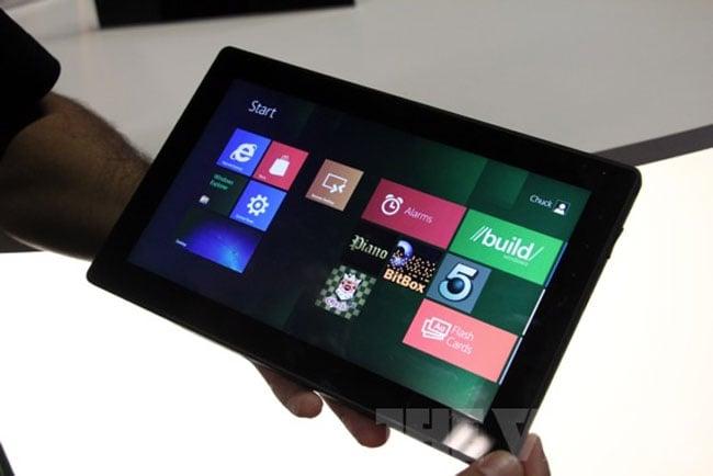 Windows 8 Running On NVIDIA Kal-El Tablet