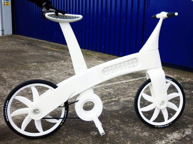 3D Printed Nylon Bicycle Is As Strong As Steel