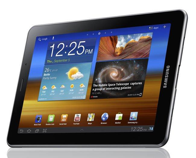 Samsung Galaxy Tab 7.7 Android Tablet Gets Official