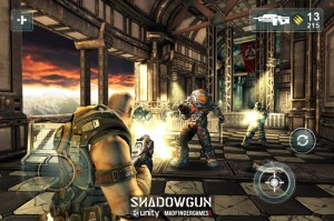 Shadowgun For iPad And iPhone Hits The App Store (video)