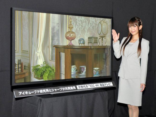 Sharp 4K LCD