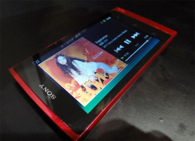 Sony Z Series Android Walkman