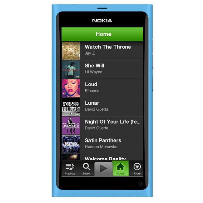 Spotify Lands On Nokia Smartphones