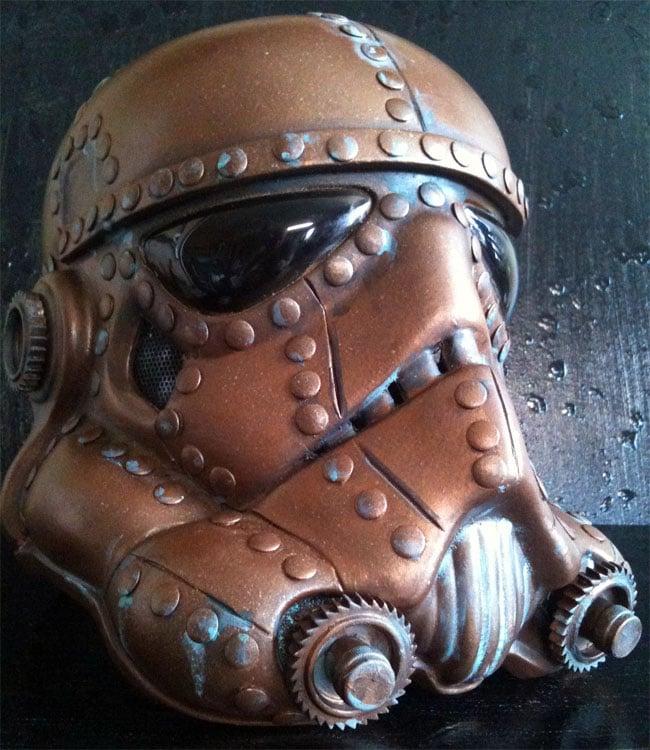 Steampunk Stormtrooper Helmet
