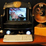 Steampunk web camera