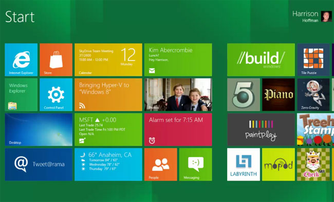 Windows 8 Metro Apps