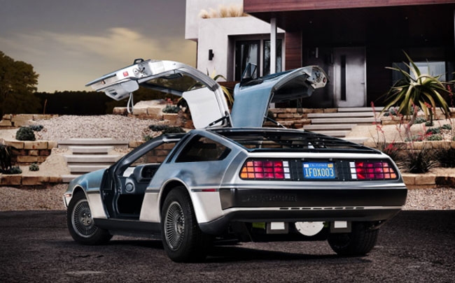 2013 Electric Delorean