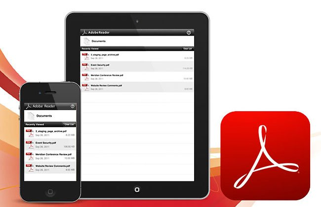 Adobe Reader iOS