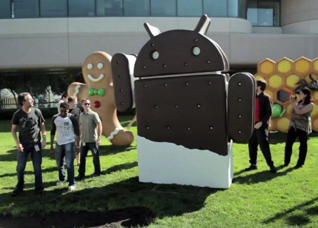 Android 4.0 Ice Cream Sandwich SDK