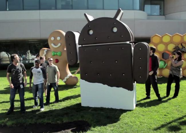 Android 4.0 Ice Cream Sandwich SDK
