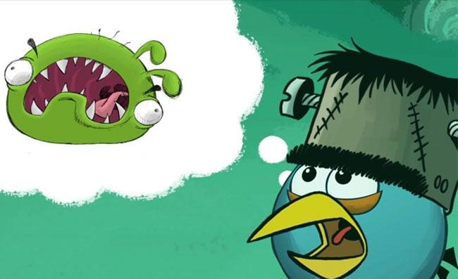 Angry Birds Nightmare Before Christmas