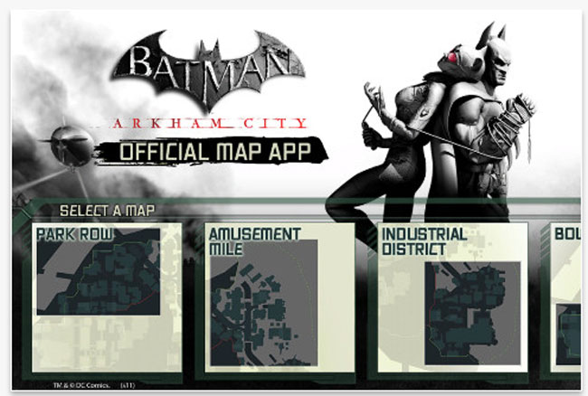 Arkham City Official iOS App