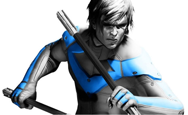 Batman Arkham City Nightwing