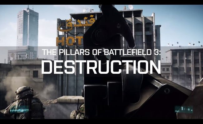 Battlefield 3 Destructive Trailer