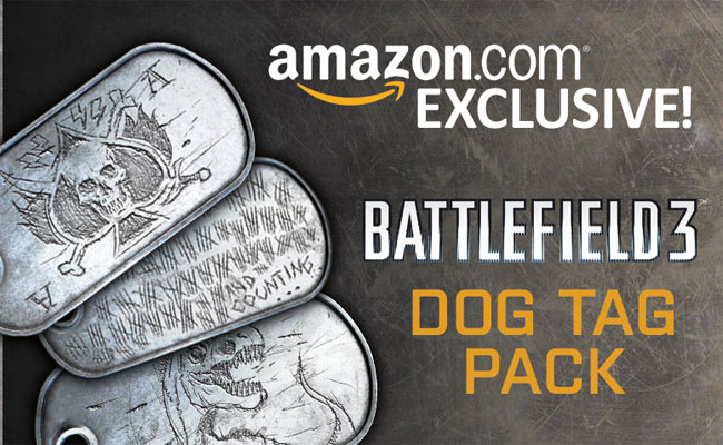 Battlefield 3 Dog Tag