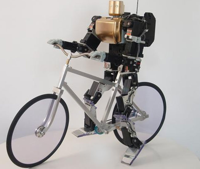 Bike Riding Robot