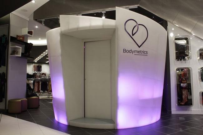 Bodymetrics body scanner